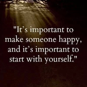 Start with yourself….